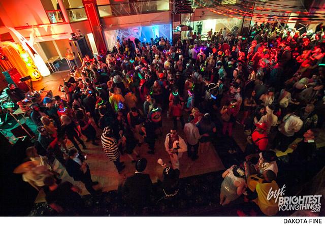 "BYT hosts the \""Twerk or Tweet\"" Halloween party at the Sphinx Club in Washington, D.C. on Saturday, October 26, 2013."