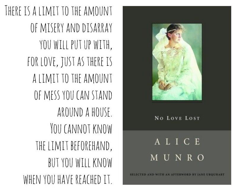 Alice Munro No Love Lost