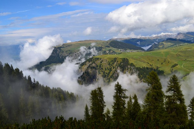 Clearing Above the Valley by Jim