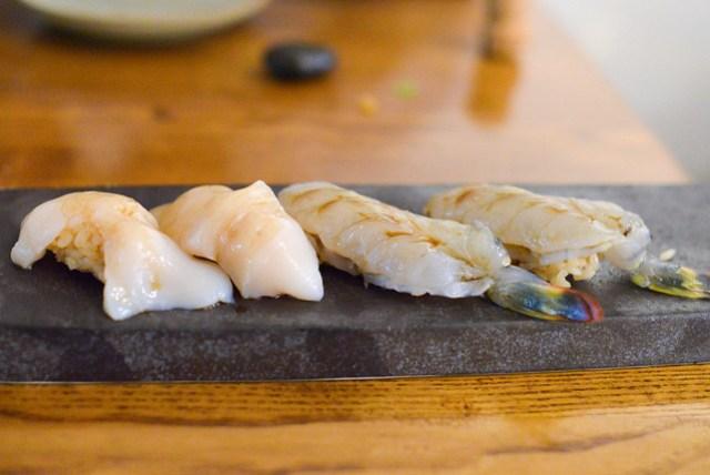 Nama Ebi and Hokkaido Scallop