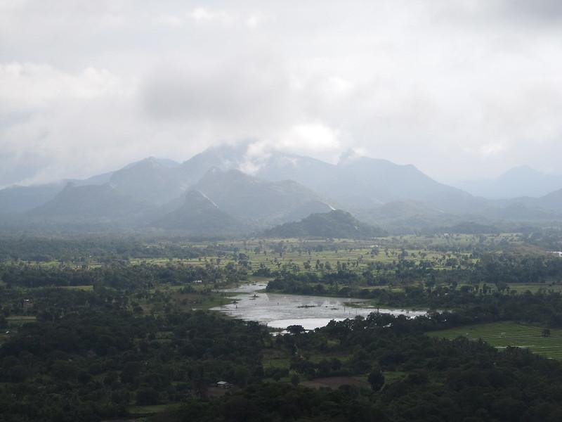 Beautiful view at Sigiriya