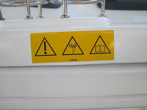 Strange warnings