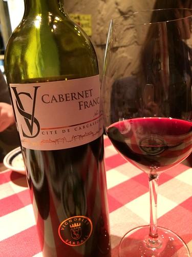 Vignobles Sarrail VS Cabernet Franc(フランス ボルドー)@神楽坂ワイン食堂