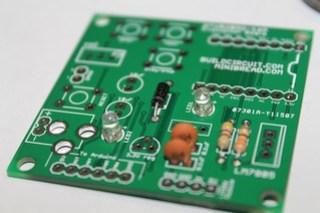 5- Solder 2pcs of 3mm LED