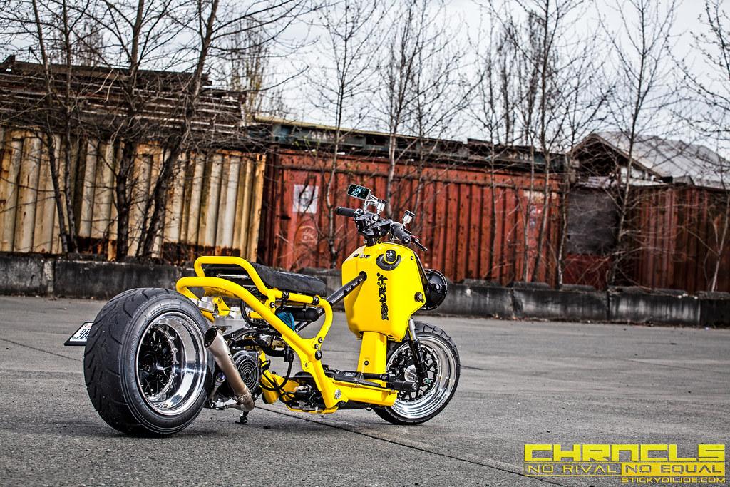Très Exclusive Content: Unpublished Photos Of Trik Speed's Custom Honda  AC46
