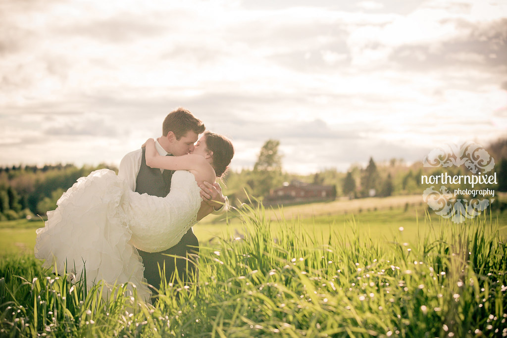 Prince George British Columbia Farm Wedding