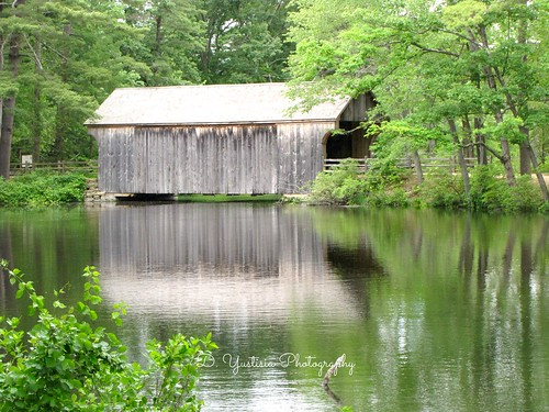 The Covered Bridge & Its Reflection
