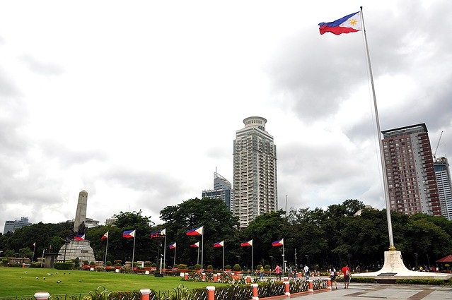 Rizal Park (Luneta Park), Manila, Philippines