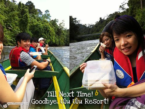 Ulu Ulu Resort long boat