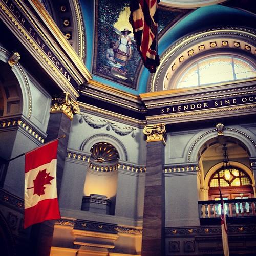 Inside the Legislative Building Victoria BC by @MySoDotCom