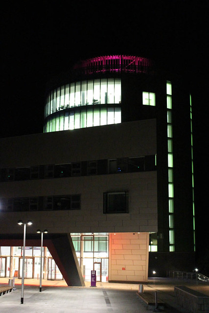 Riverside East at Night