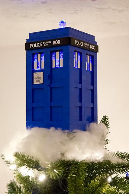 TARDIS Tree Topper 2013