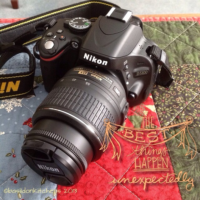 Dec 25 - best bit if my day {a super surprise from hubby} #fmsphotoaday #christmas #camera #nikon #present #gift