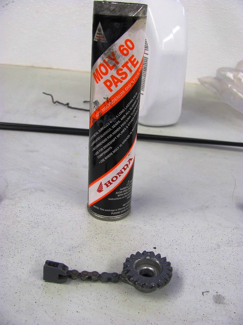 Throttle Cam and Moly 60 Lubrication
