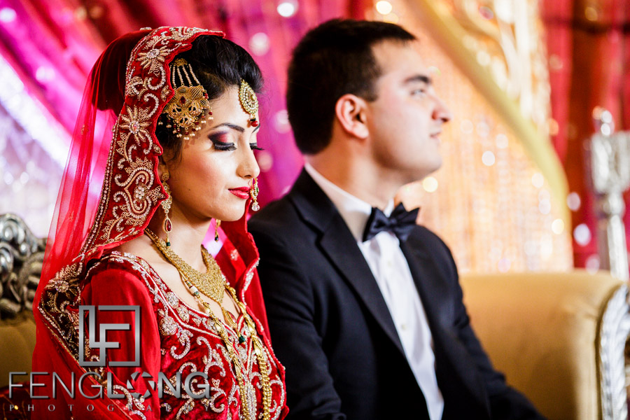 Bengali bride and Pakistani groom
