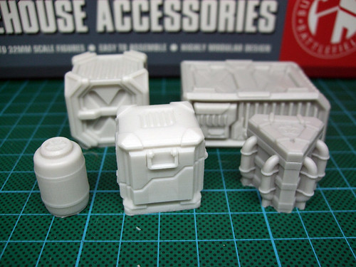 Spartan Scenics Warehouse Accessories