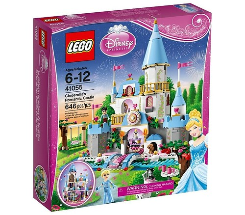 41055 Cinderellas Romantic Castle