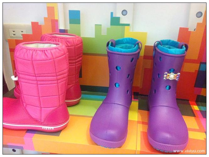 [活動]crocs卡駱馳2013秋冬新款~女士時尚軟膠雨靴.新色上市 @VIVIYU小世界