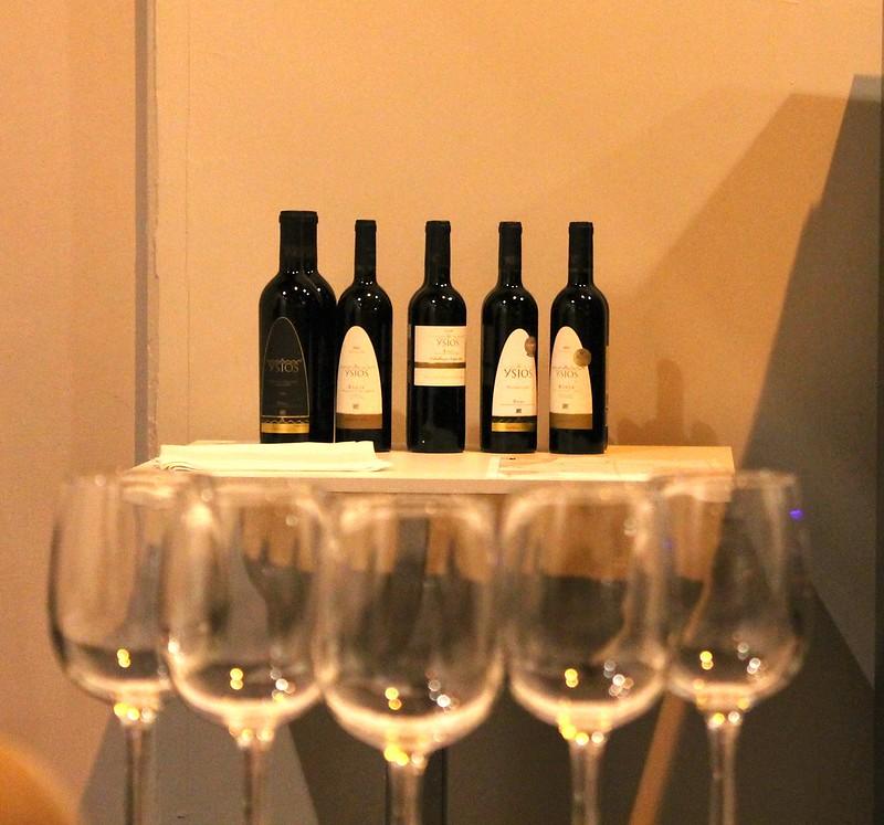 5 vinos de Ysios