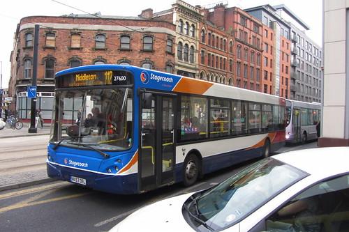Transbus Enviro300, Stagecoach Manchester, MX57 OEL