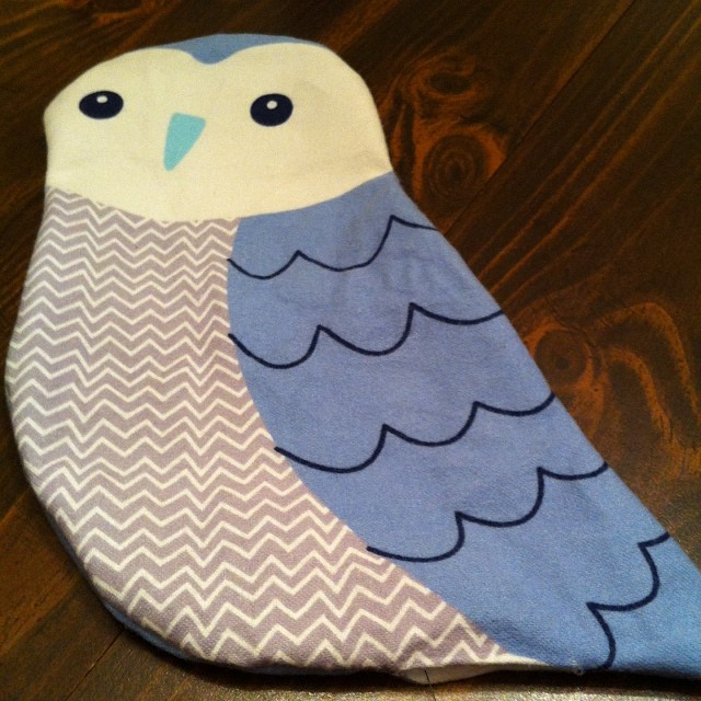 Snow bird ready to stuff!  I'm on a roll!  Don't look too close! #sewing