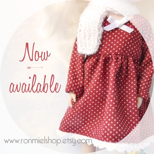 Dress for Blythe doll! by * Ronmiel *