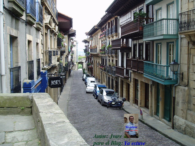 Calle_Mayor_Barrio_Viejo_Hondarribia