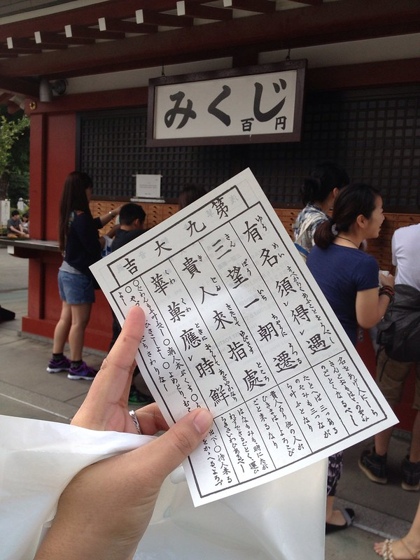 O-mikuji: Japanese Fortunes for Love, Career, and Travel