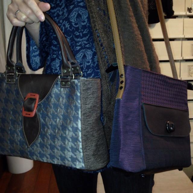 コムさん制作のバッグです。素敵でしょ〜