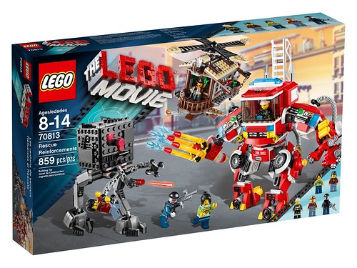 70813 Rescue Reinforcements BOX