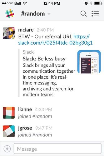 #slack