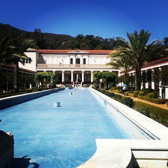 Fun day at the Getty Villa in Malibu. :-)