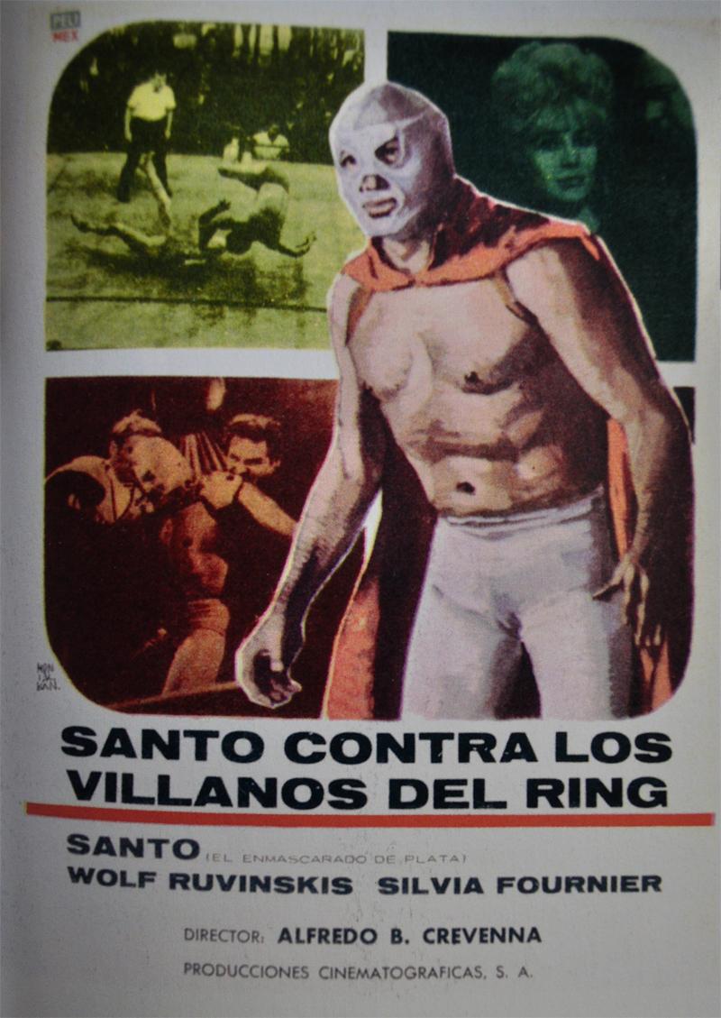 Santo Contra Los Villanos Del Ring