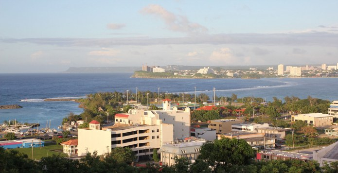 view from the top of Guam skyline 3