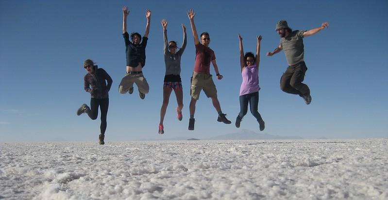 Salt Flat Jumping