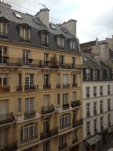 view from Paris apartment number 3