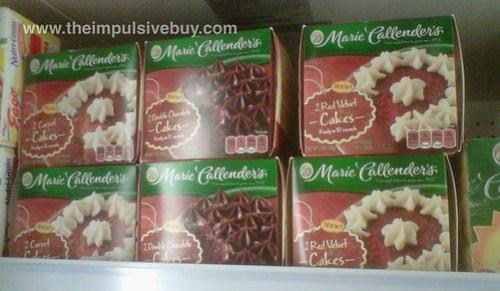 Marie Callender's Cakes
