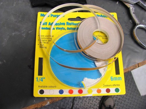 1/4 Inch Pinstripe Tape For Masking
