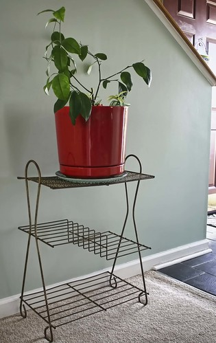 Oooooooooo. Vintage plant stand photo copyright Jen Baker/Liberty Images; all rights reserved.
