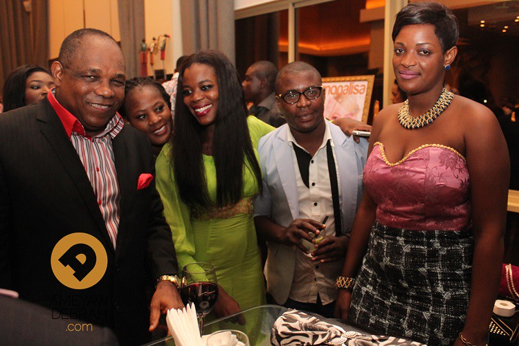 launch of monalisa magazine in ghana