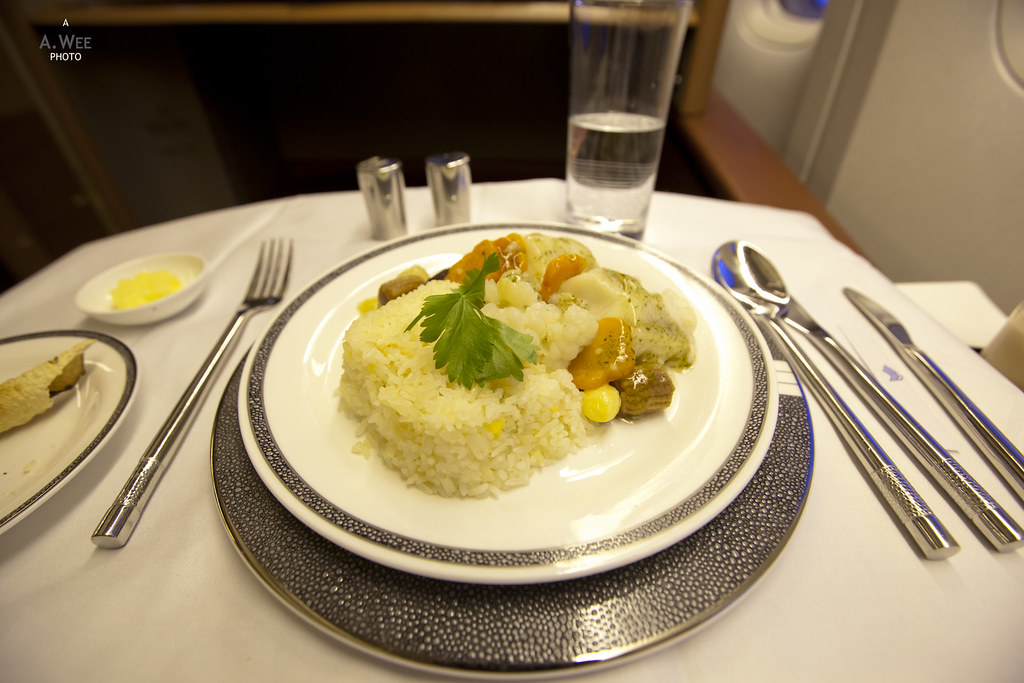 Chinese Style Cod with Fried Rice