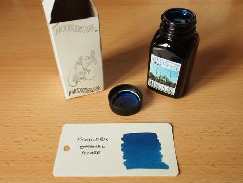 Noodler's Ottoman Azure - Ink Review
