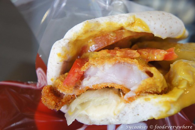 5.bear paw -whole wheat, fish, honey mustard, cheese-lemon yakult RM 16.90 (10)