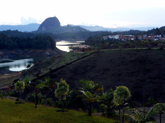La Piedra de Penol in Guatape, Colombia.
