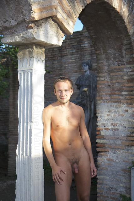 naturist 0005 Ostia Antica, Rome, Italy