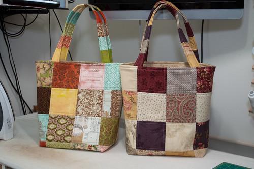 One charm pack, one yard bag