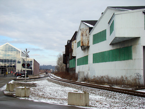 Along 40th Street in Lawrenceville, Feb 3rd 2014