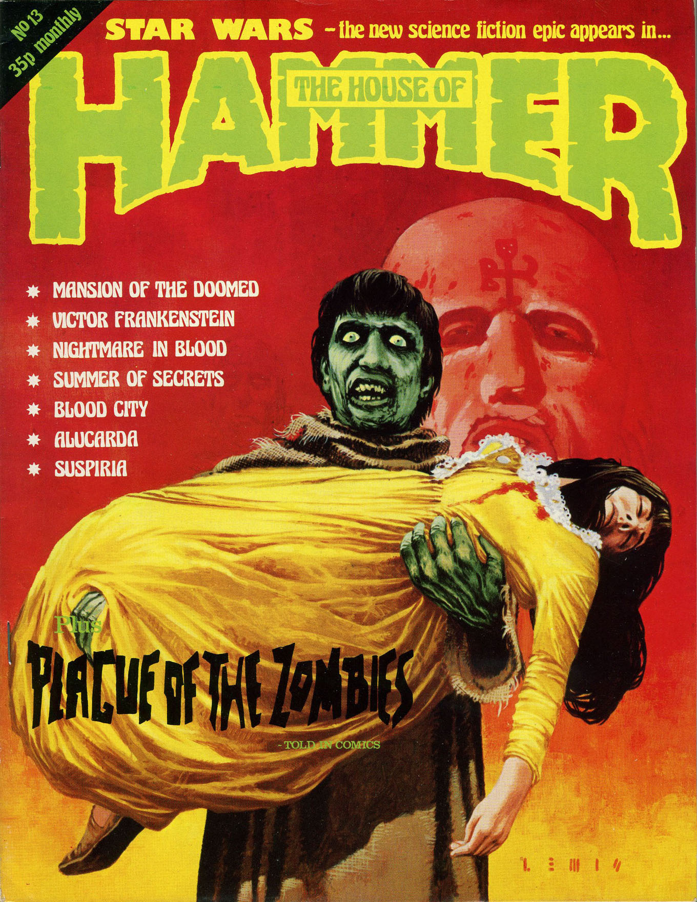 The House Of Hammer awesome-tober-fest 2013: house of hammer magazine #13 (1977