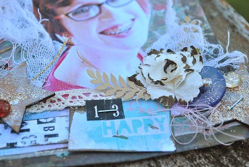 13 queen corner left flower