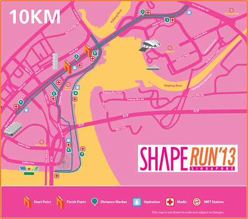 shape run 2013 route
